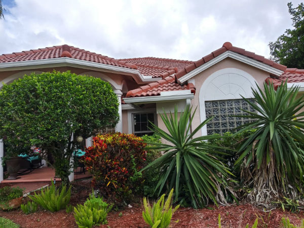 Boca Raton Residential Gutter Installation Project: Residence at Cloister Lake Lane